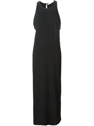 Isabel Benenato Sleeveless Column Dress Black