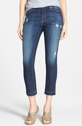 Kut From The Kloth 'Reese' Distressed Stretch Ankle Jeans Hardworking