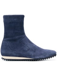 Pedro Garcia Cille Stretch Boots Blue