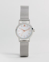 Asos Mini Silver Mesh Watch