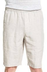 Slate And Stone Men's Drawstring Linen Shorts