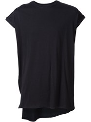 Y Project 'Y Back Muscle Tee' T Shirt Black