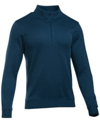 Under Armour Men's Quarter Zip Storm Fleece Sweater Academy Blue