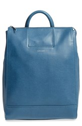 Matt And Nat 'Katherine' Faux Leather Backpack Blue Moonstone