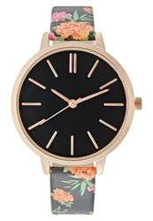New Look Bright Floral Watch Multicolour Multicoloured