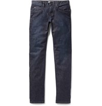 Loro Piana Slim Fit Stretch Denim Jeans Blue