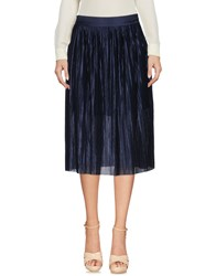 Libertine Libertine Knee Length Skirts Dark Blue