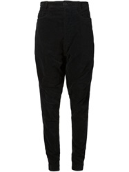 Rundholz Drop Crotch Trousers Black