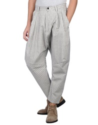 Henrik Vibskov Casual Pants White
