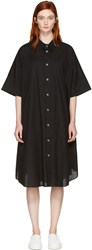Nocturne 22 Black Circle Shirt Dress