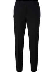 Red Valentino Cigarette Trousers Black