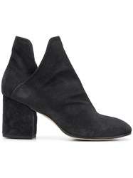 Officine Creative Heeled Ankle Boots Black