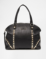 Lipsy Pyramid Stud Shoulder Bag Black