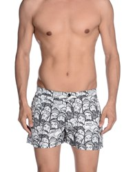 Frankie Morello Swimwear Swimming Trunks Men White