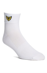 Michael Toschi Golf Socks White Color Logo