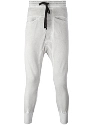 Thom Krom Drop Crotch Sweatpants Grey