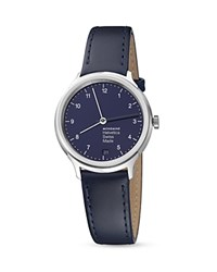 Mondaine Helvetica No. 1 Regular Bleu Marine Watch 33Mm Blue