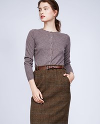 Aspesi Cashmere Cardigan Brown