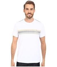 Prana Calder Short Sleeve Tee White Men's T Shirt