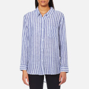 Rails Women's Charli Stripe Shirt Parisian Blue
