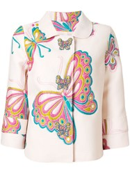 Andrew Gn Embroidered Butterfly Jacket 60