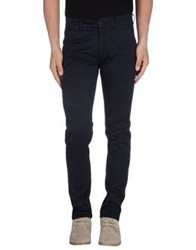 Velour Casual Pants Dark Blue