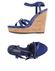 Vic Sandals Dark Blue