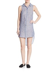 Rails Eva Linen Hi Lo Shirtdress