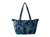Vera Bradley Miller Bag Java Floral Tote Handbags Black