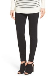 Vince Camuto Women's Two By Ponte Knit Moto Leggings