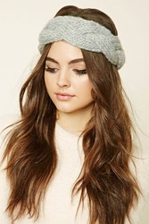 Forever 21 Knotted Headwrap Grey