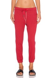 Nsf Tyler Drawstring Sweatpant Red