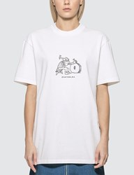 A.P.C. X Jjjjound Rough T Shirt White