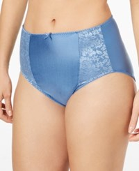 Bali Double Support High Cut Panty Dfdbhc Hot Springs Blue
