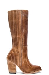 Freebird Knife Boot Cognac