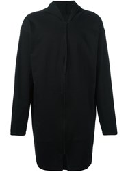 Alchemy Long Zip Fastening Hoodie Black