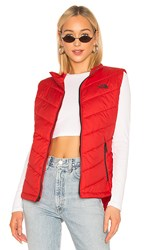 The North Face Tamburello Vest In Red. Tnf Red