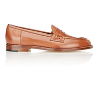 Manolo Blahnik Women's Urbane Penny Loafers Brown