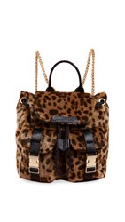 Kendall Kylie Poppy Mini Backpack Leopard