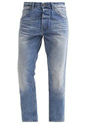 Tom Tailor Denim Atwood Straight Leg Jeans Light Stone Wash Denim Mottled Light Grey