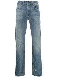 Levi's Vintage Clothing Straight Leg Trousers Blue