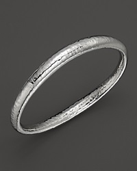 Ippolita Sterling Silver Glamazon Skinny Sculpted Bangle No Color