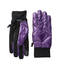 Seirus Solarsphere Ace Gloves Plum Ski Gloves Purple