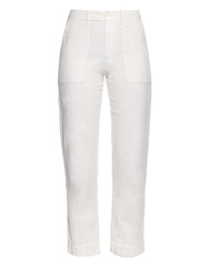 Raquel Allegra Canton Lightweight Cotton Twill Trousers