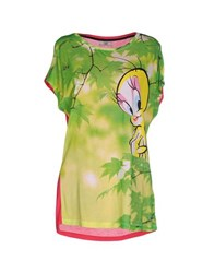 Ice Iceberg Topwear T Shirts Women Green