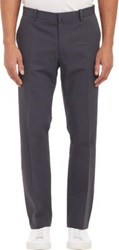 Vince Creased Leg Trousers Grey