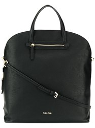 Calvin Klein Rounded Shape Tote Bag Black