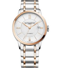Baume And Mercier M0a10217 Classima Stainless Steel And Gold Toned Watch Silver