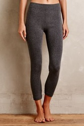 Anthropologie Fleece Lined Leggings Dark Grey