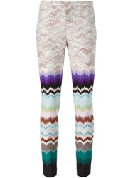 Missoni Zig Zag Print Leggings Multicolour